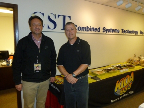 Scott Wilson at Combined System Technology
