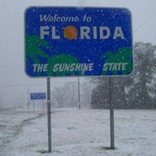 Snowbird Talks Florida Snow!